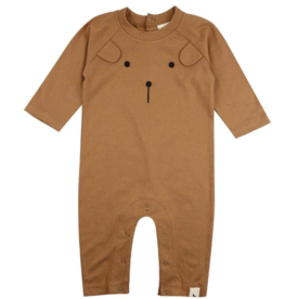 Turtledove London - Lilly + Sid - Honey Bear Playsuit