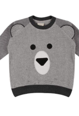 Turtledove London - Lilly + Sid - Bear Face Sweatshirt