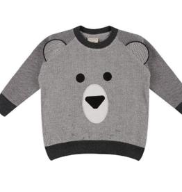 Turtledove London - Lilly + Sid - Bear Face Sweatshirt