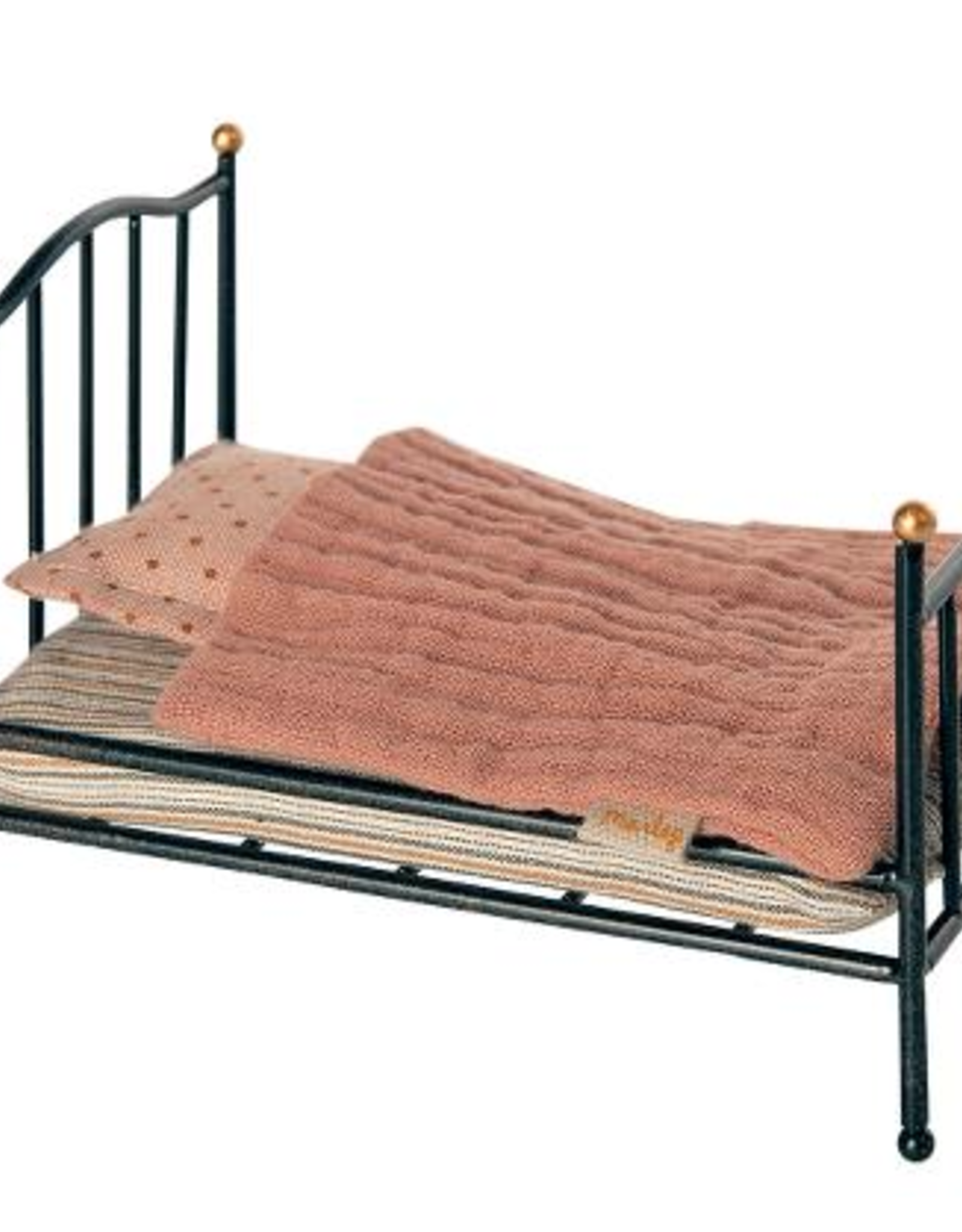 Maileg Maileg - Vintage Bed , Mouse - Anthracite