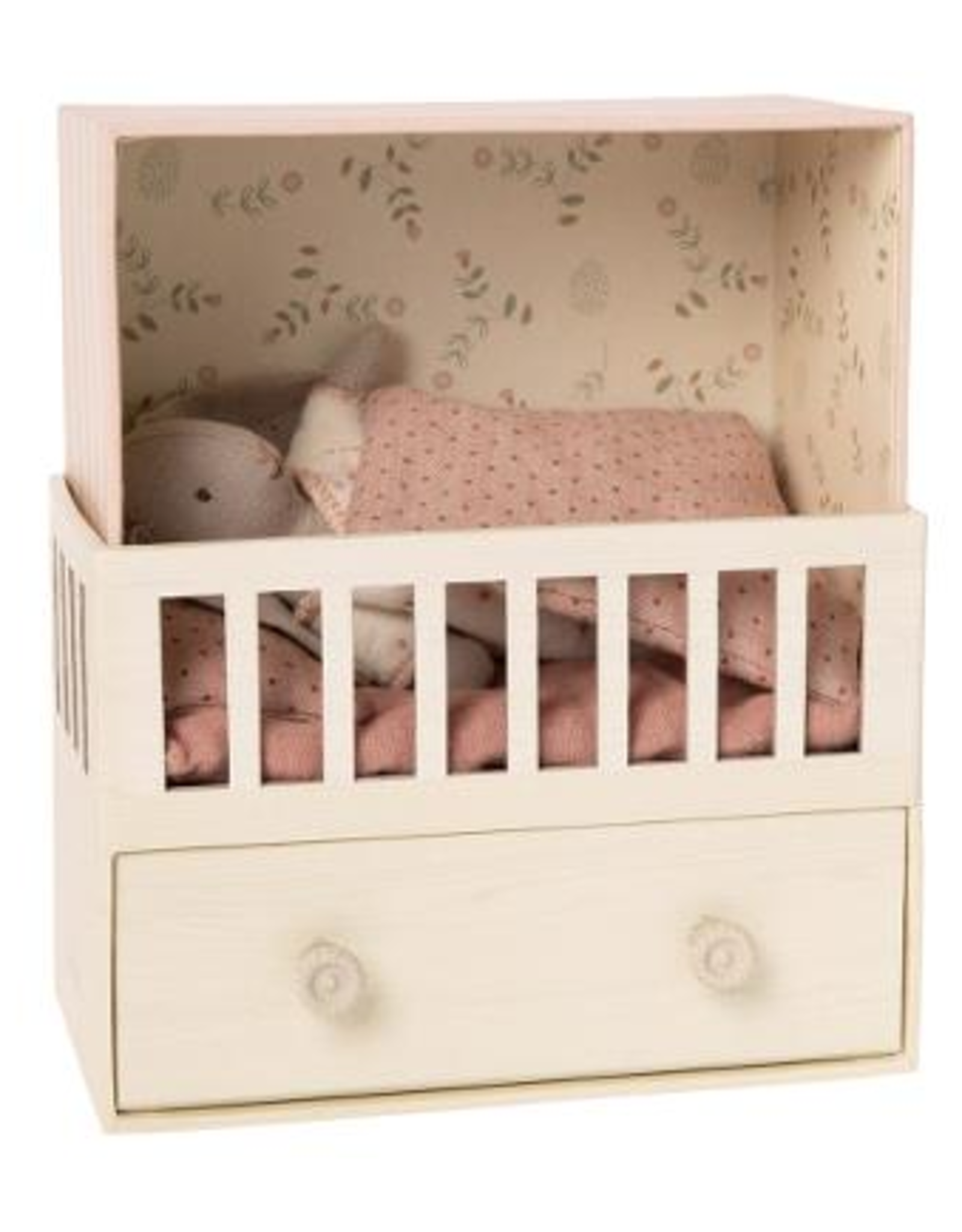 Maileg Maileg - Baby Room with Micro Rabbit