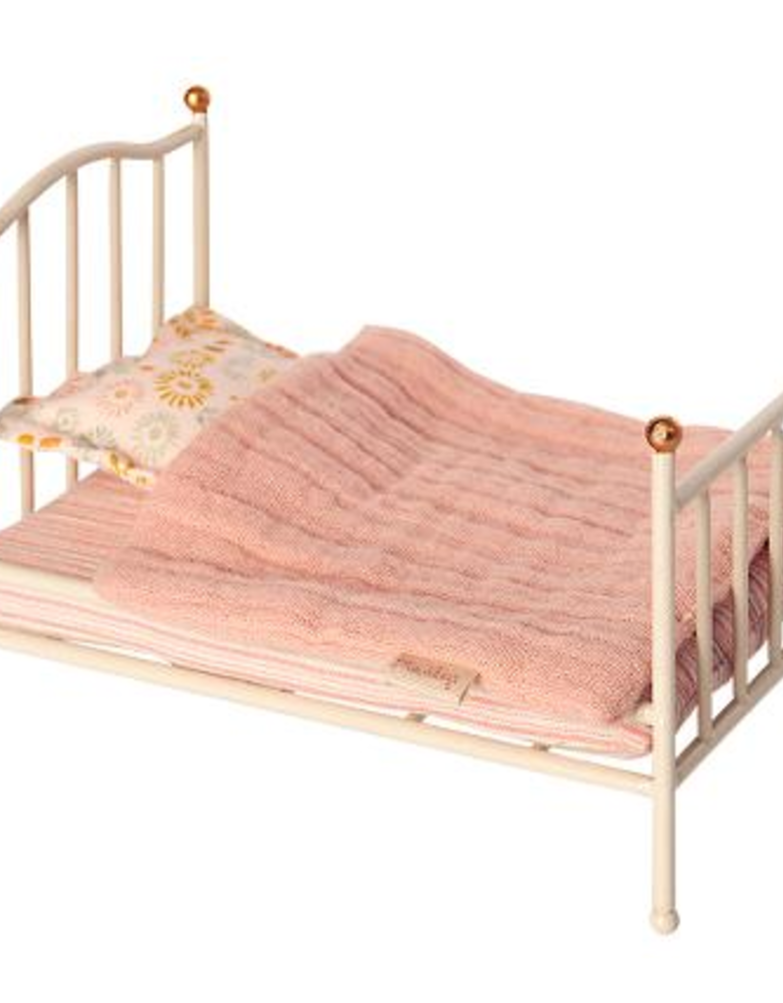 Maileg Maileg - Vintage Bed , Mouse - Off White
