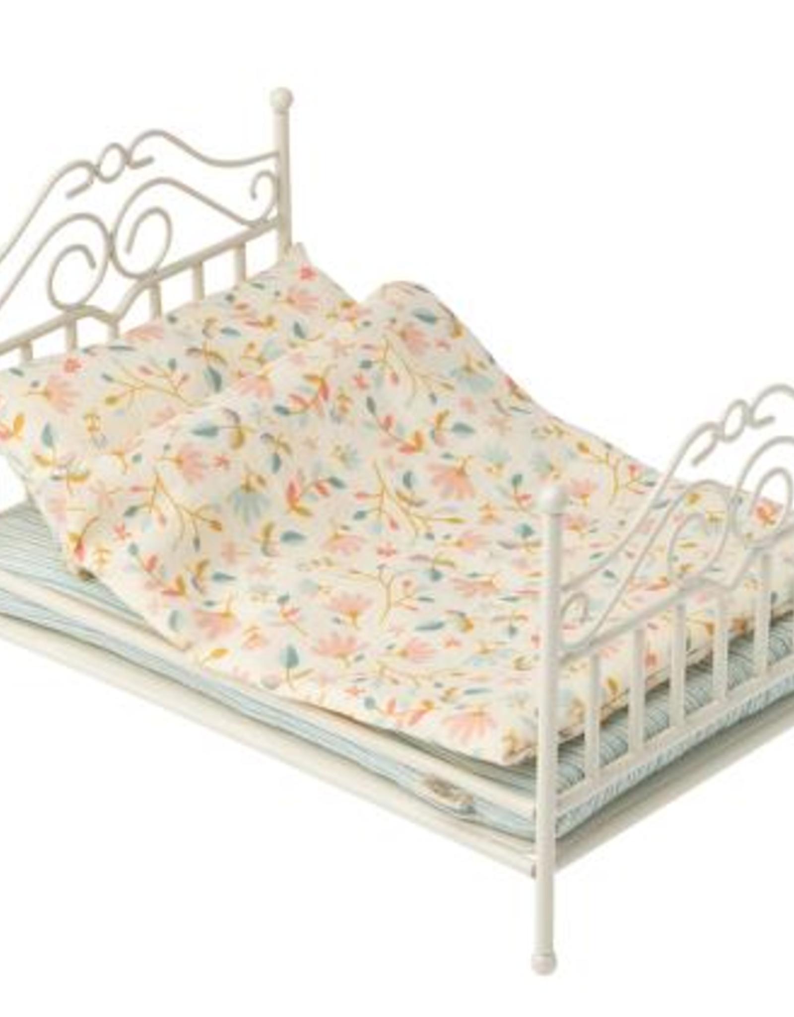 Maileg Maileg - Micro Vintage Bed - Soft Sand
