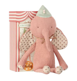 Maileg Maileg - Circus Friends - Elephant with Hat - Rose