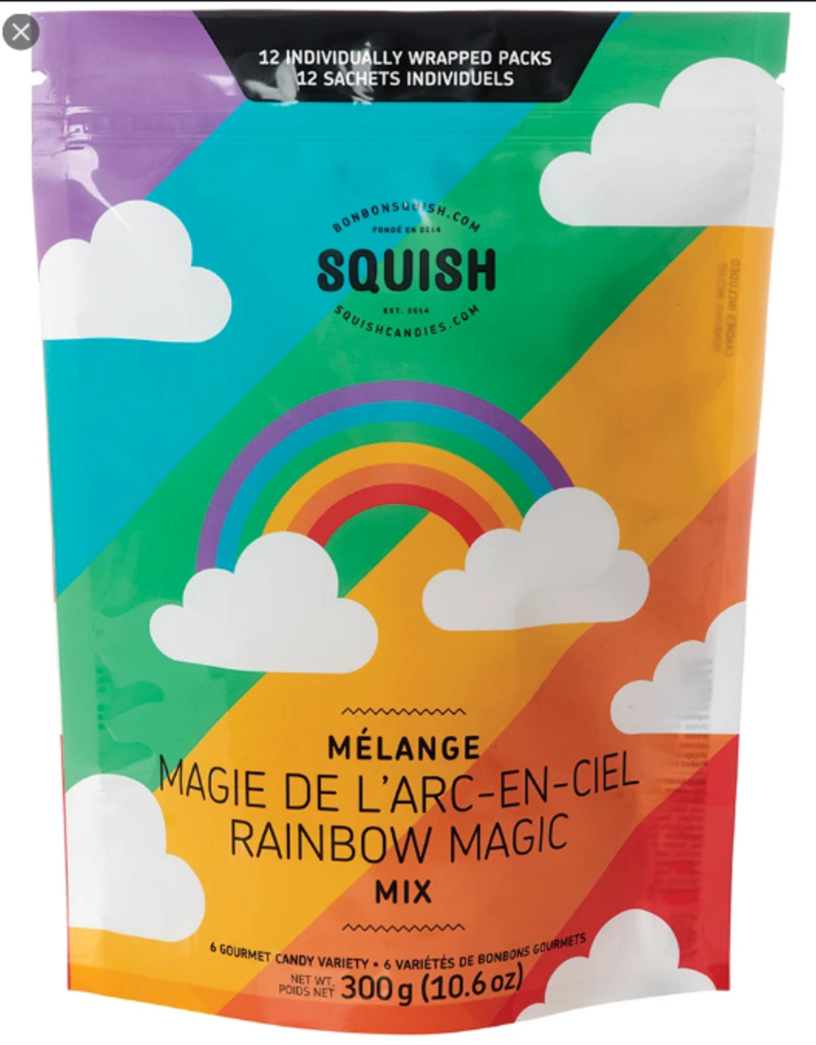 SQUISH Squish Candy - 300 g Multi Packs
