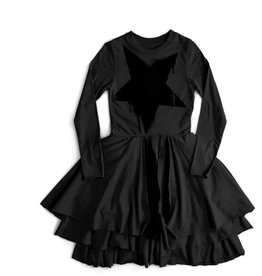 NUNUNU Nununu - Falling Star Layered Dress