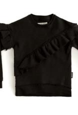 NUNUNU Nununu - Asymmetrical Ruffle Sweatshirt