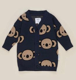 HUXBABY HuxBaby - Koala Knit Cardi