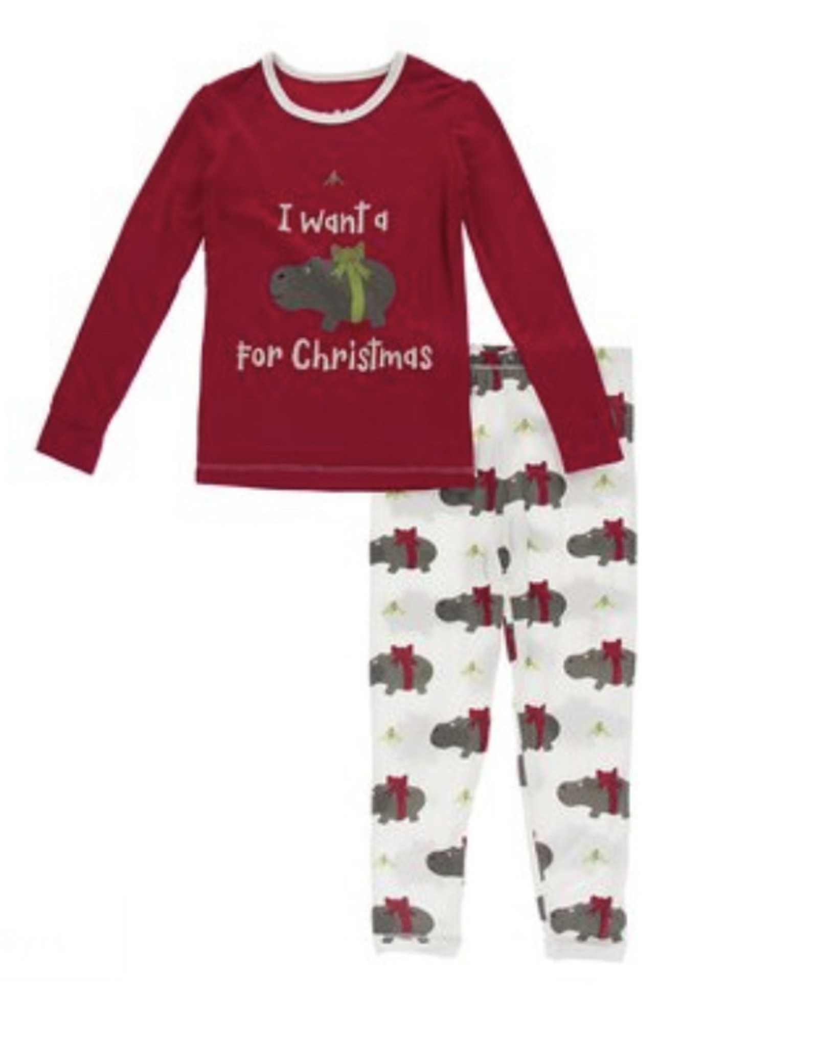 KicKee Pants KicKee Pants - Long Sleeve Pajama Set