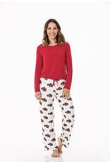 KicKee Pants KicKee Pants - Women's Loosey Goosey 2 pc L/S Pajama Set