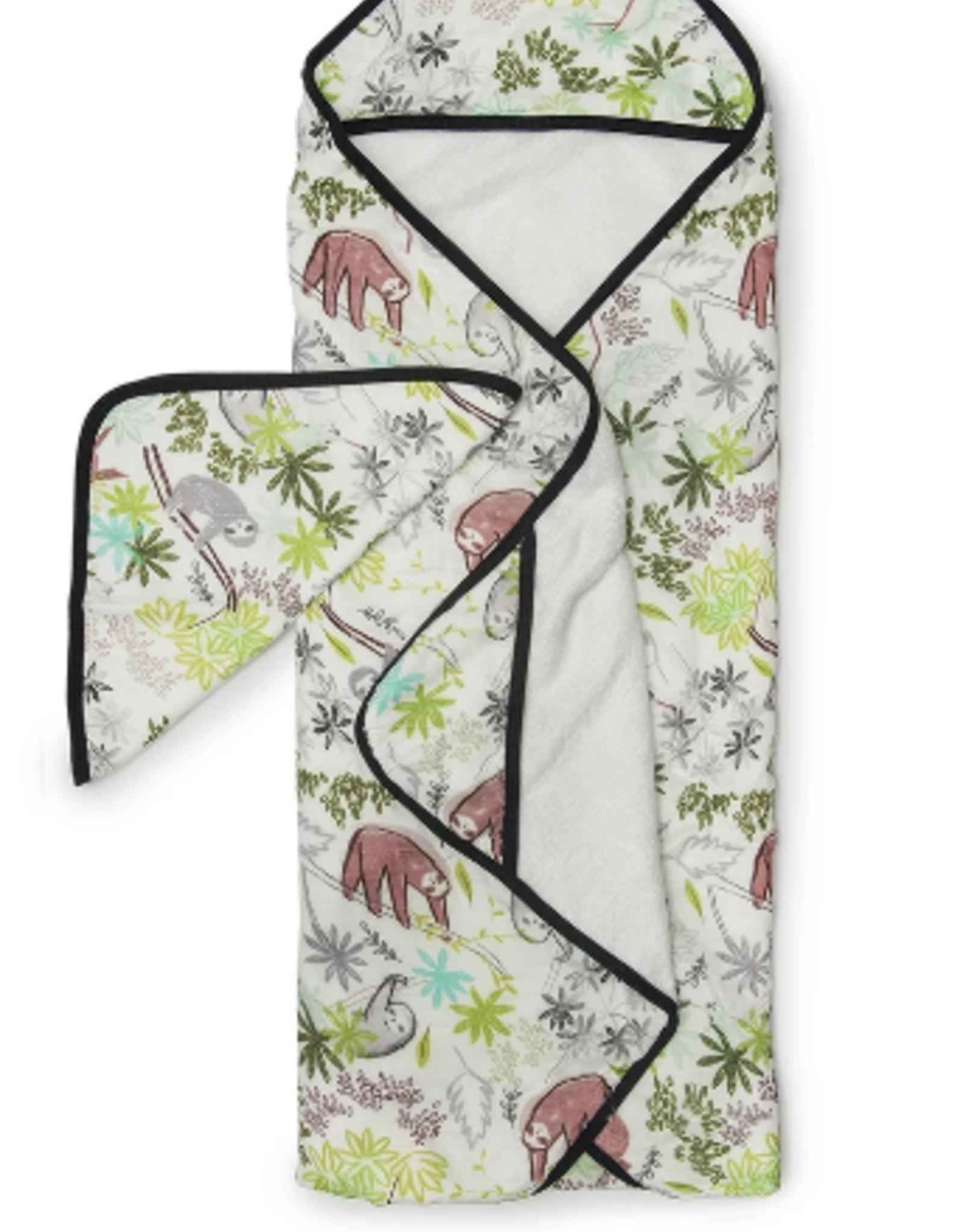loulou LOLLIPOP loulou LOLLIPOP - Hooded Towel Set