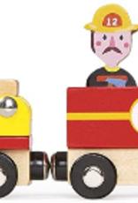 Janod - Story Train Firefighter