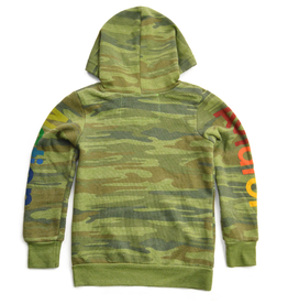 Aviator Nation Zip Camo Hoodie