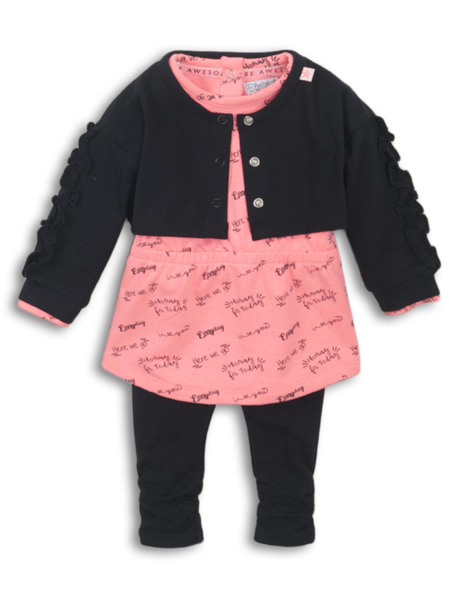 Dirkje - 3 Piece Baby Girl Set