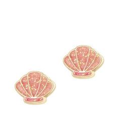 Girl Nation Girl Nation - Animal Earrings - Sparkly Seashells