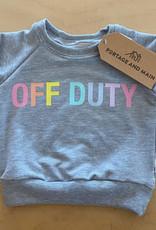 Portage + Main Portage + Main - Off Duty Rainbow Raglan