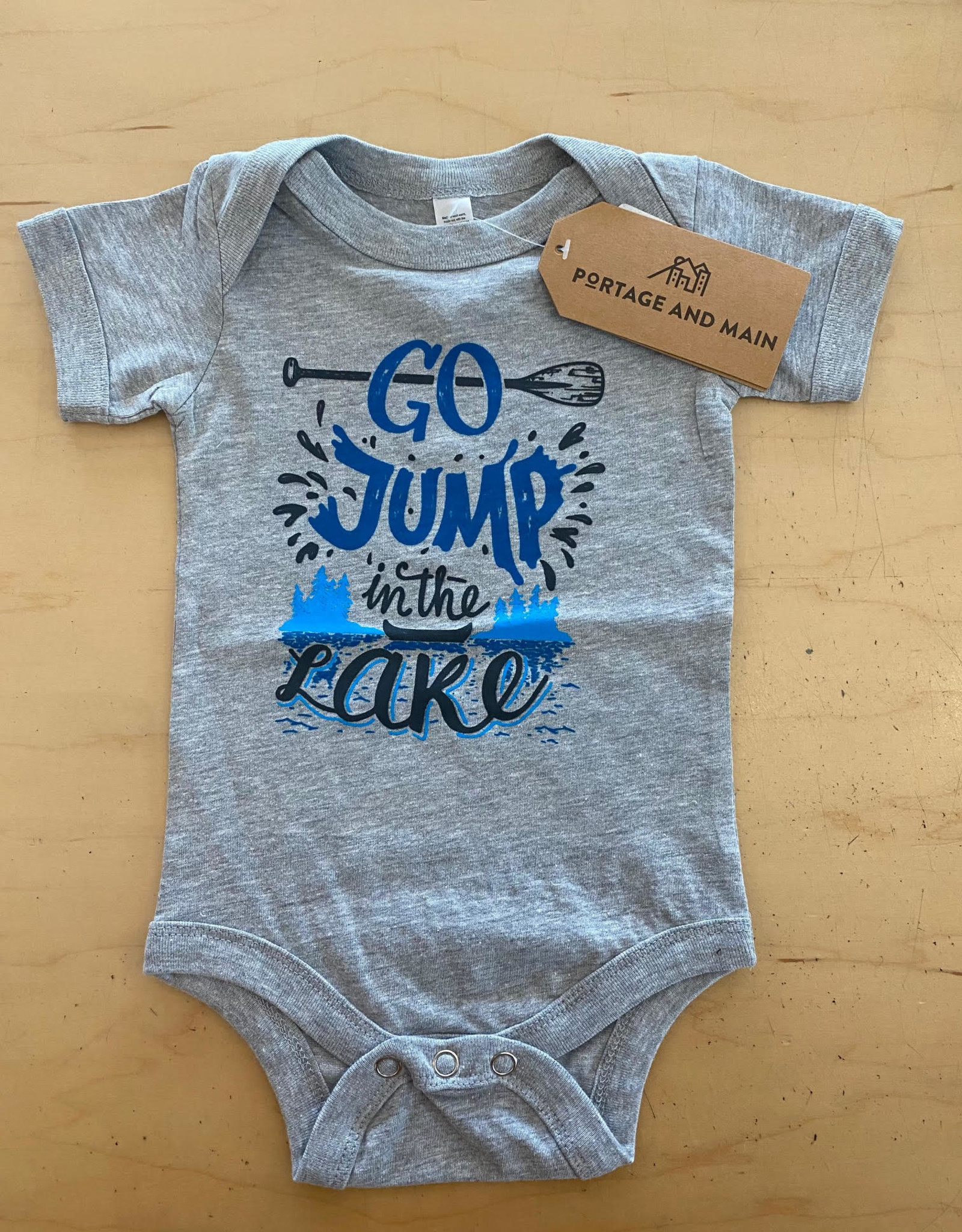 Portage + Main Portage + Main - Go Jump In The Lake Bodysuit