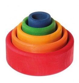 Grimm's Grimm's - Small Stacking Bowls - Multi