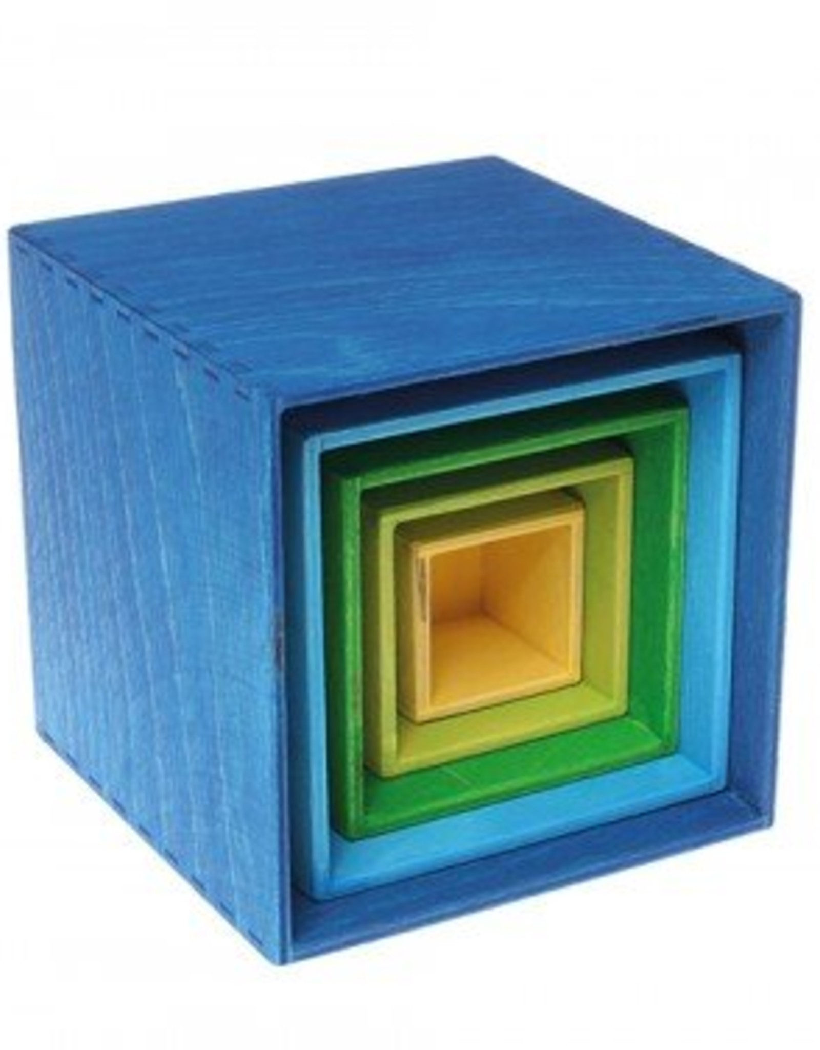 Grimm's Grimm's - Small Stacking Boxes - Blue/Green