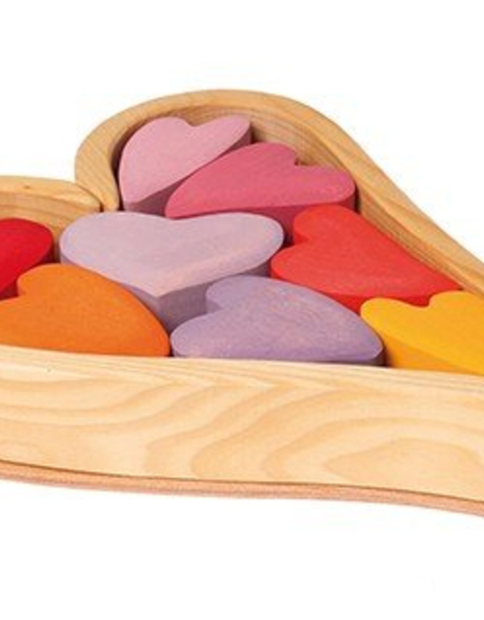 Grimm's Grimm's - Building Set Heart - Red