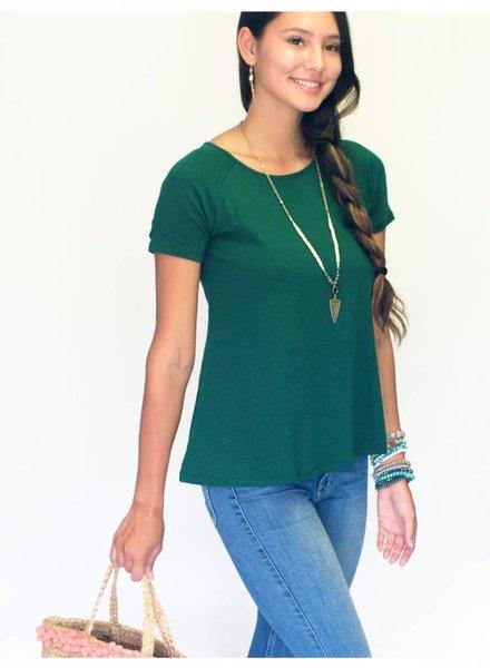 Natalie Blouse Paradise Green