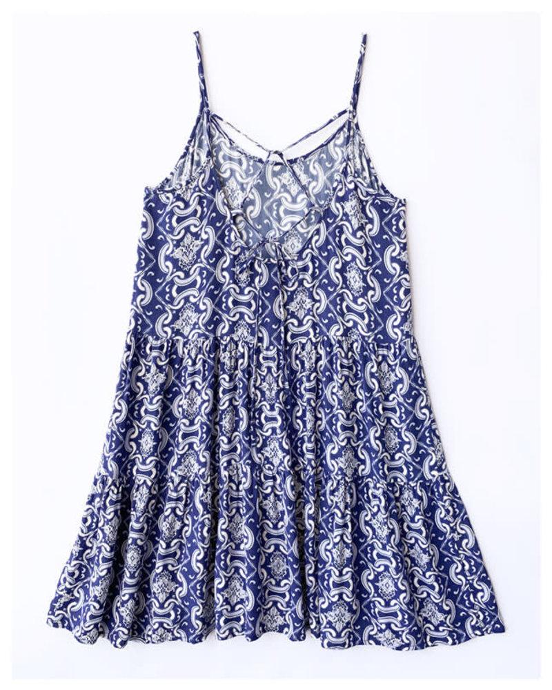 Ava Dress 589BLU