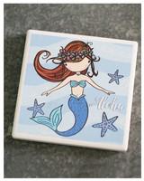 In House LP COASTER Blue Mermaid