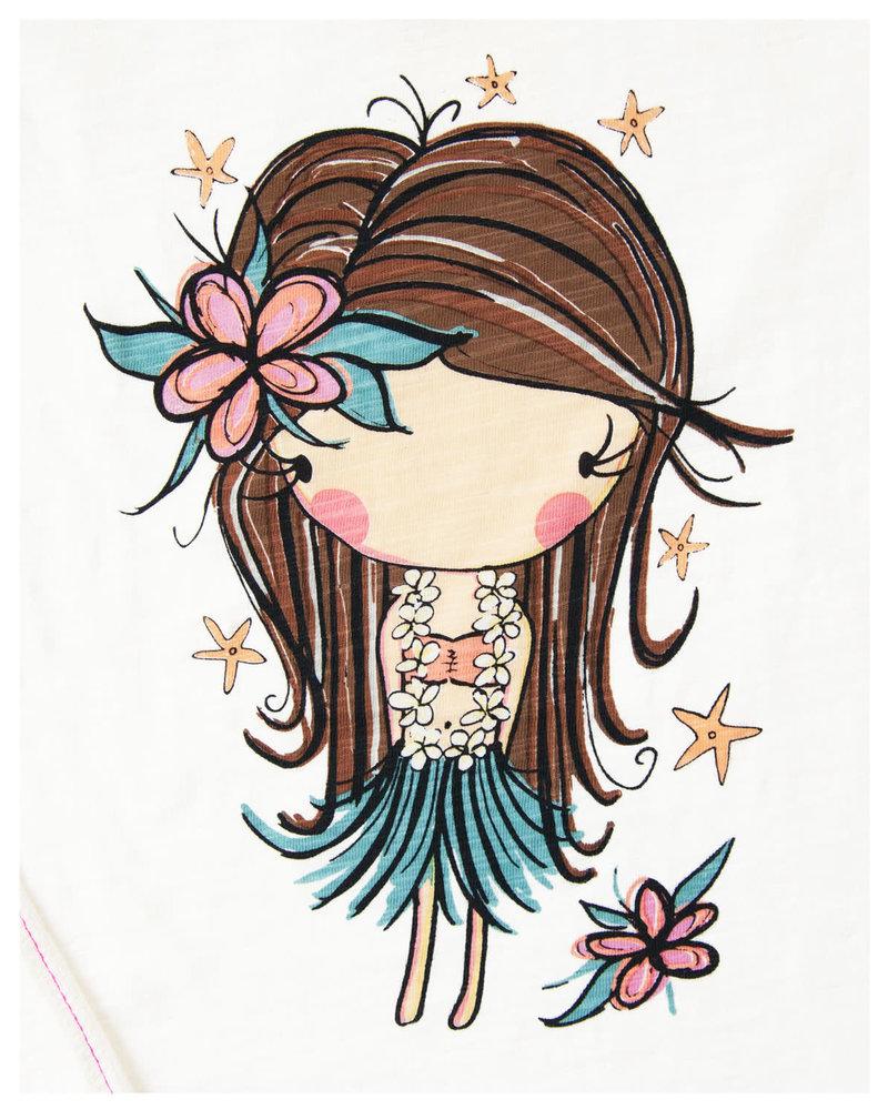 LIL TEE Hula Girl Starfish