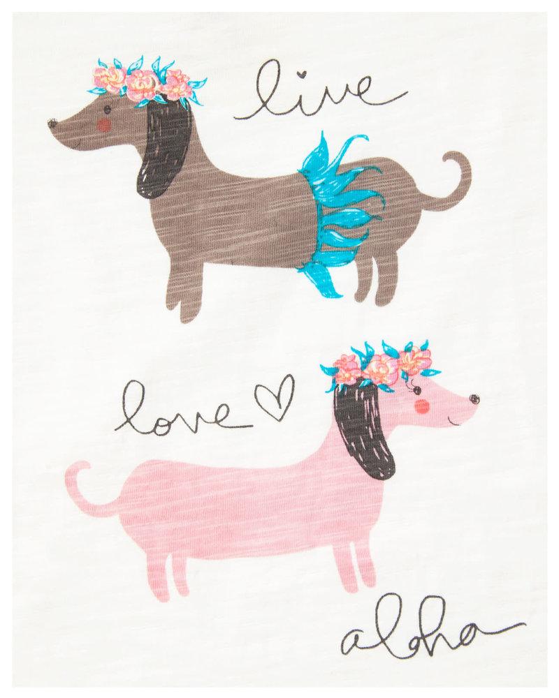 LIL TEE Hula Dogs
