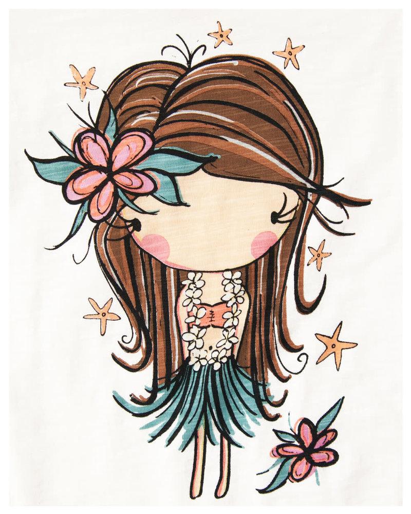 CINNAMON GIRL ONESIE Hula Girl Starfish
