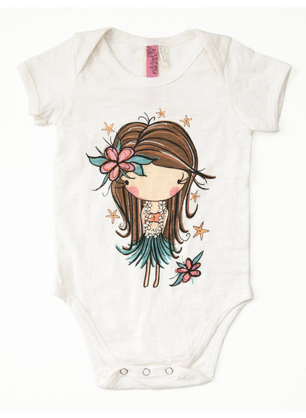 CINNAMON GIRL ONESIE Hula Girl Starfish