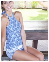 Leigh Tankini 594BLU