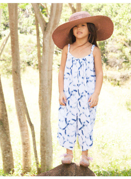 Girls Skylar KNIT Tie Dye Navy