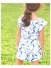 Girls Delilah Romper Tie Dye Navy