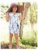 Girls Phoebe Dress Tie Dye Navy