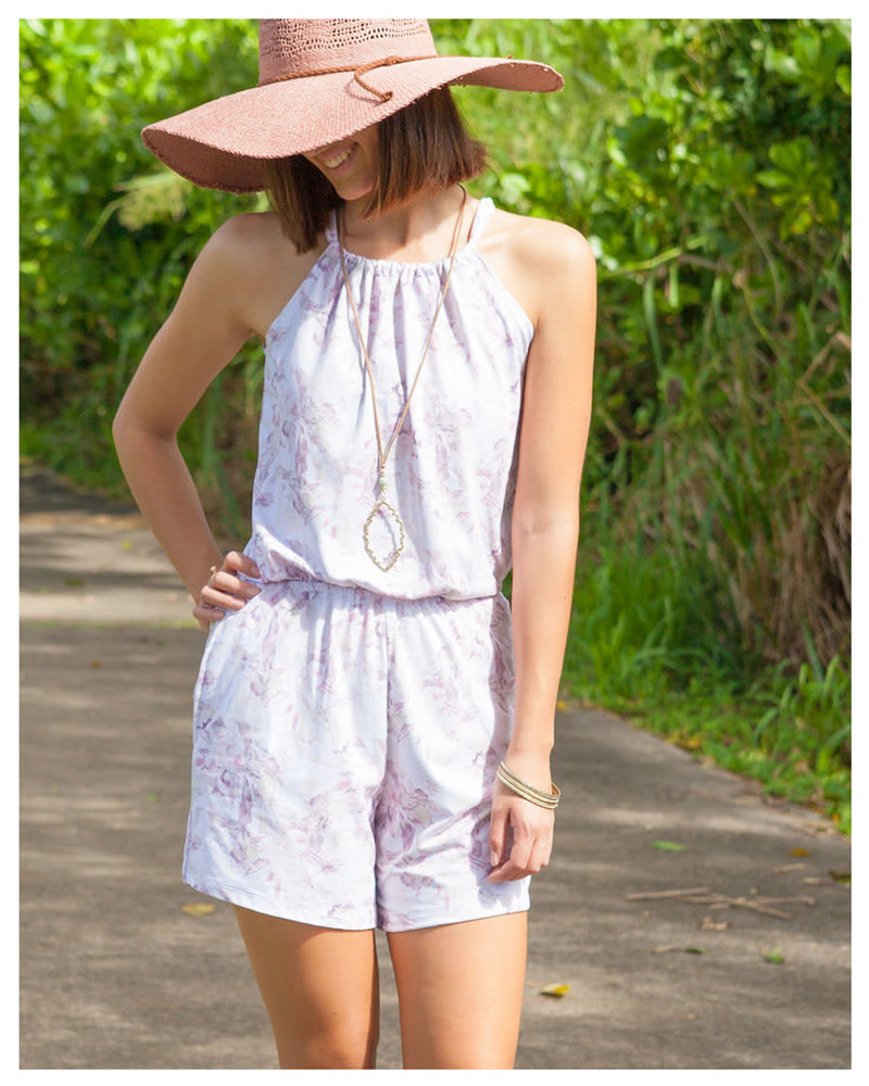 Willow Romper Floral Jungle