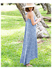 CINNAMON GIRL Christina Maxi 562BLU
