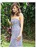 CINNAMON GIRL Sandy Maxi 598PUR