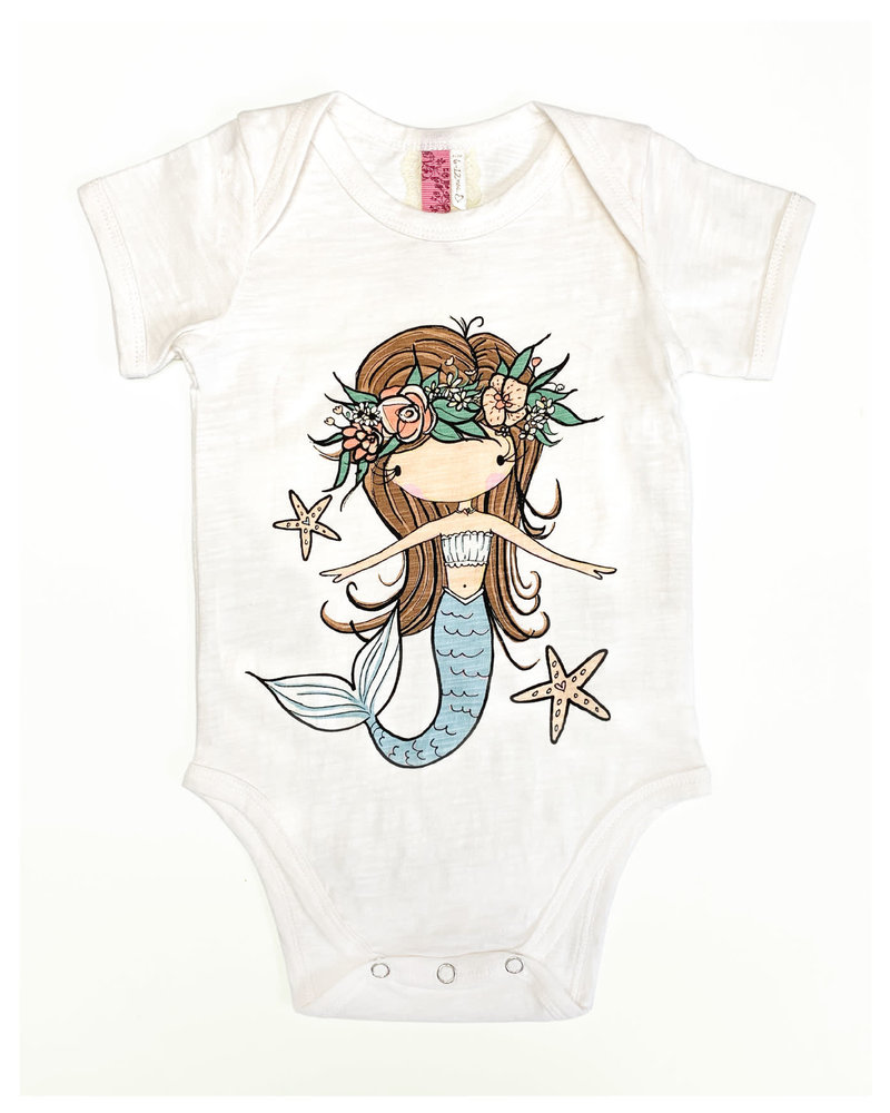 CINNAMON GIRL ONESIE Mermaid