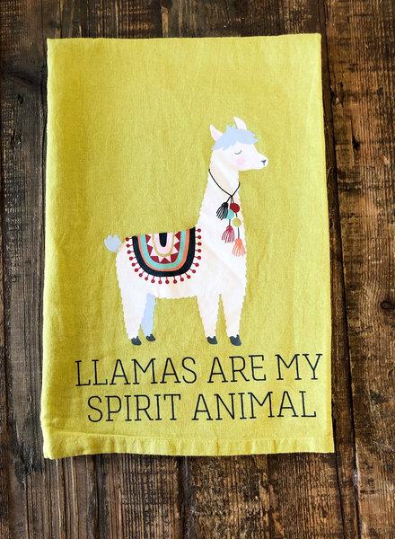 Kitchen Towel LLAMA SPIRIT ANIMAL