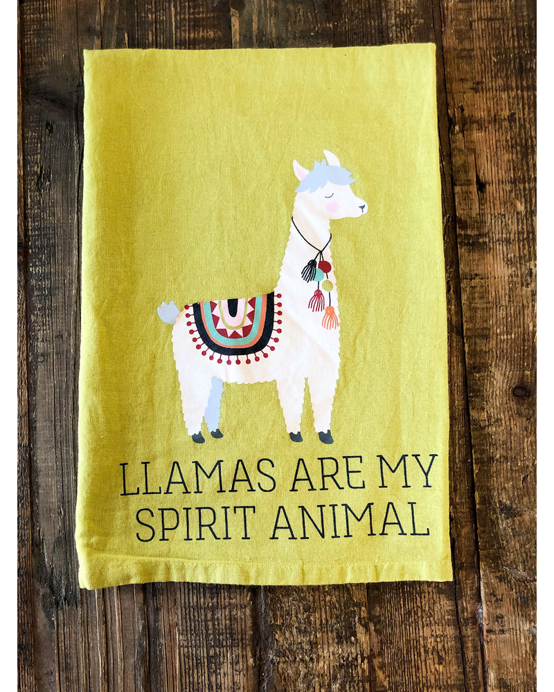 Kitchen Towel LLAMA SPIRIT ANIMAL