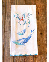 "Kitchen Towel ""You Me and the Sea"""