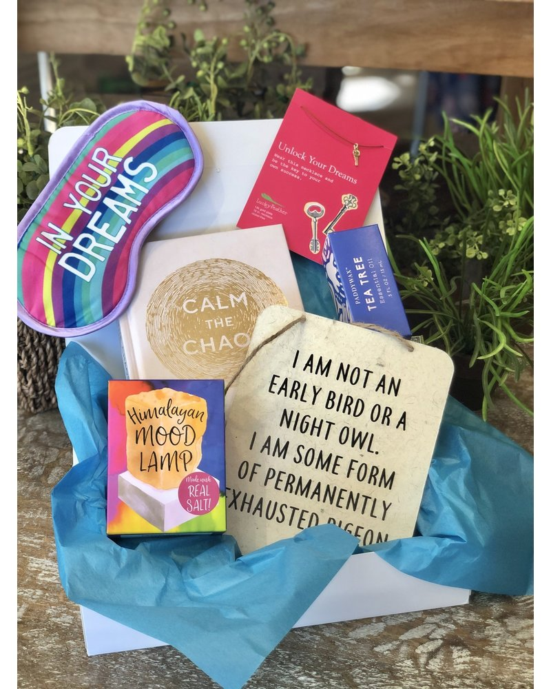 """A Box of Love for the """"Chaotic Person"""""""