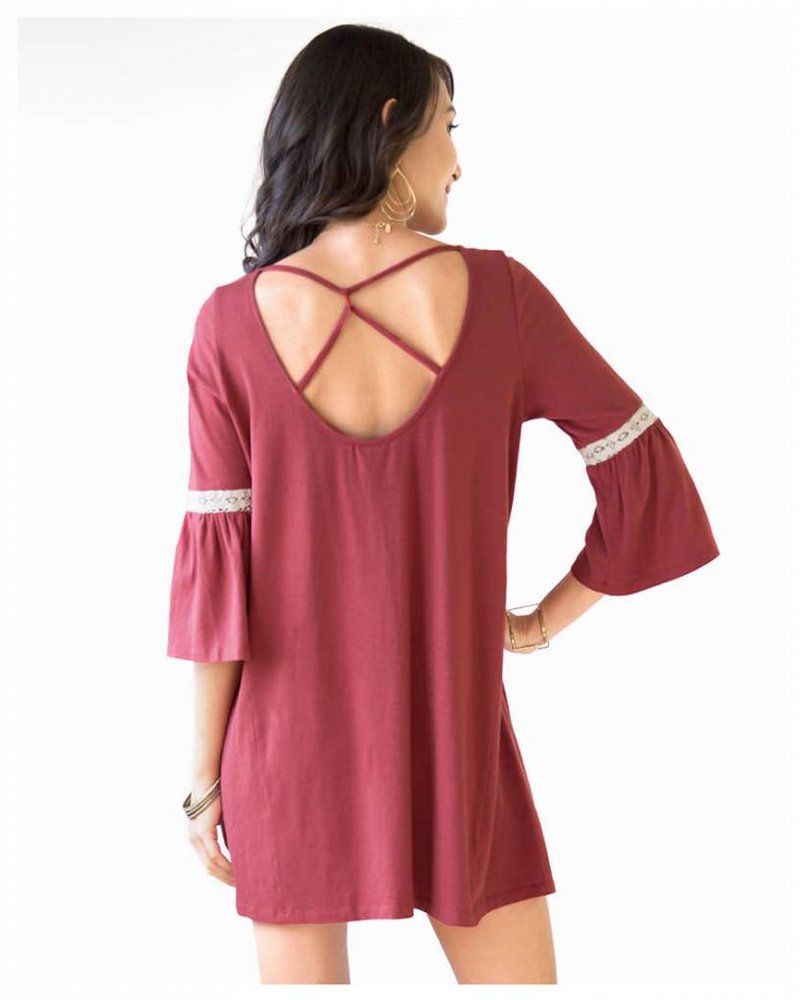 Cassidy Hibiscus Red