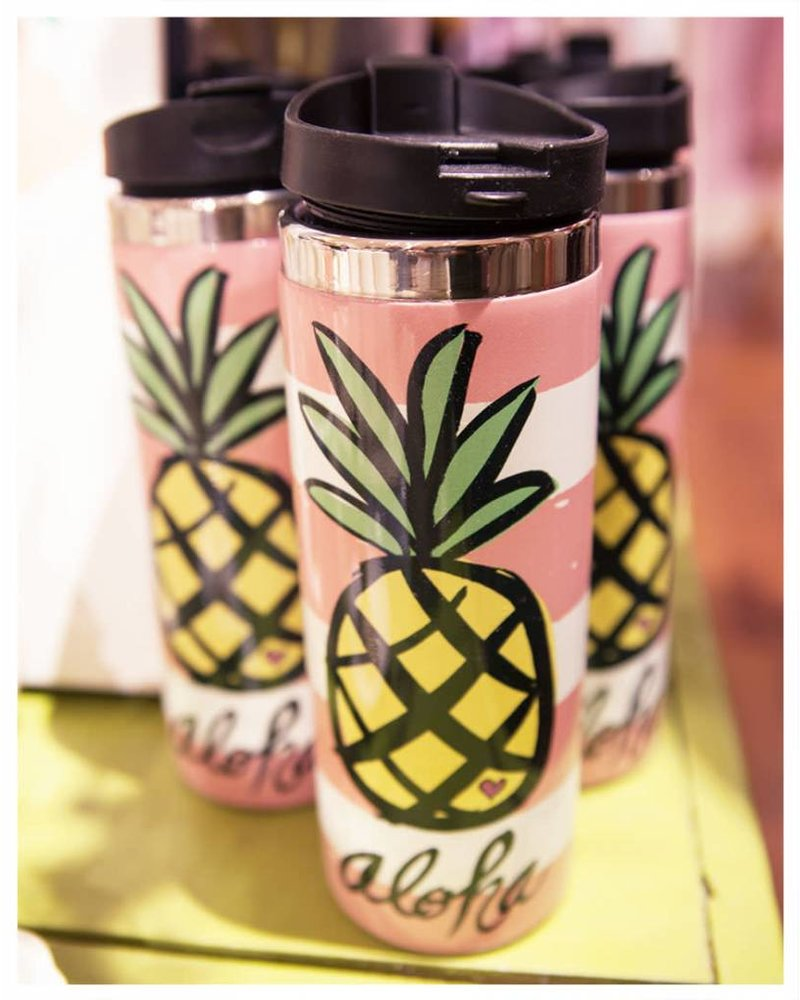 TRAVEL MUG Pineapple Aloha