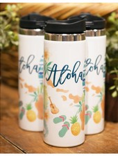 TRAVEL MUG Aloha Watercolors