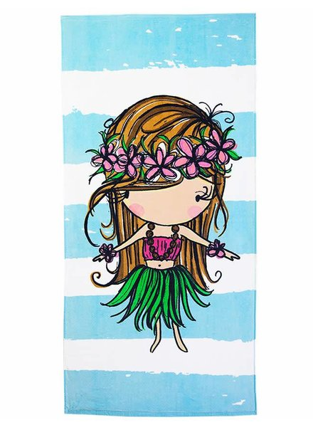 TOWEL Hula Girl Stripe