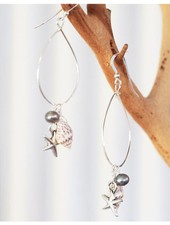 Keala Sterling Silver Earrings