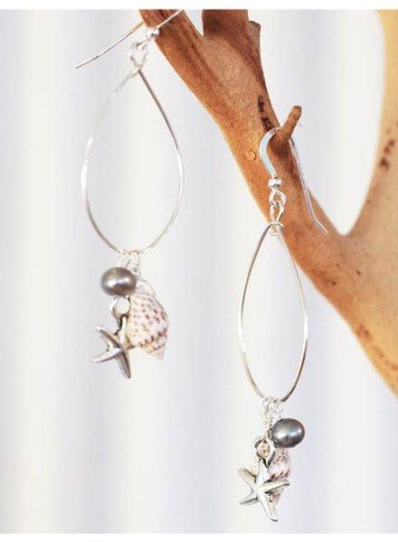 Keala Sterling Silver Earrings