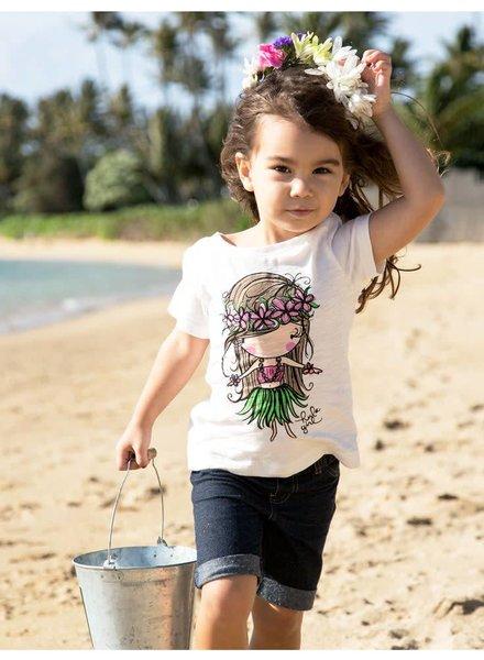 LIL TEE Hula Girl